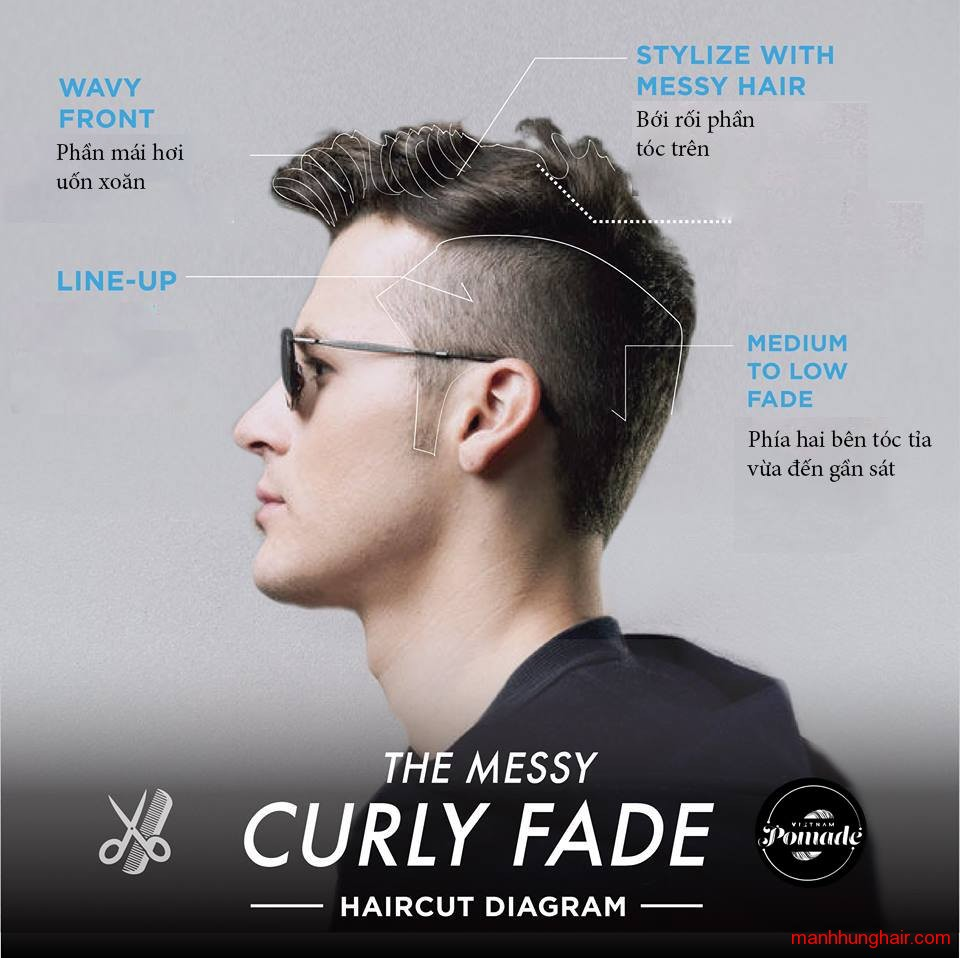 curly fade