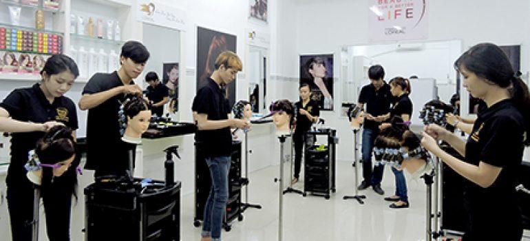 dạy cắt tóc hải phòng