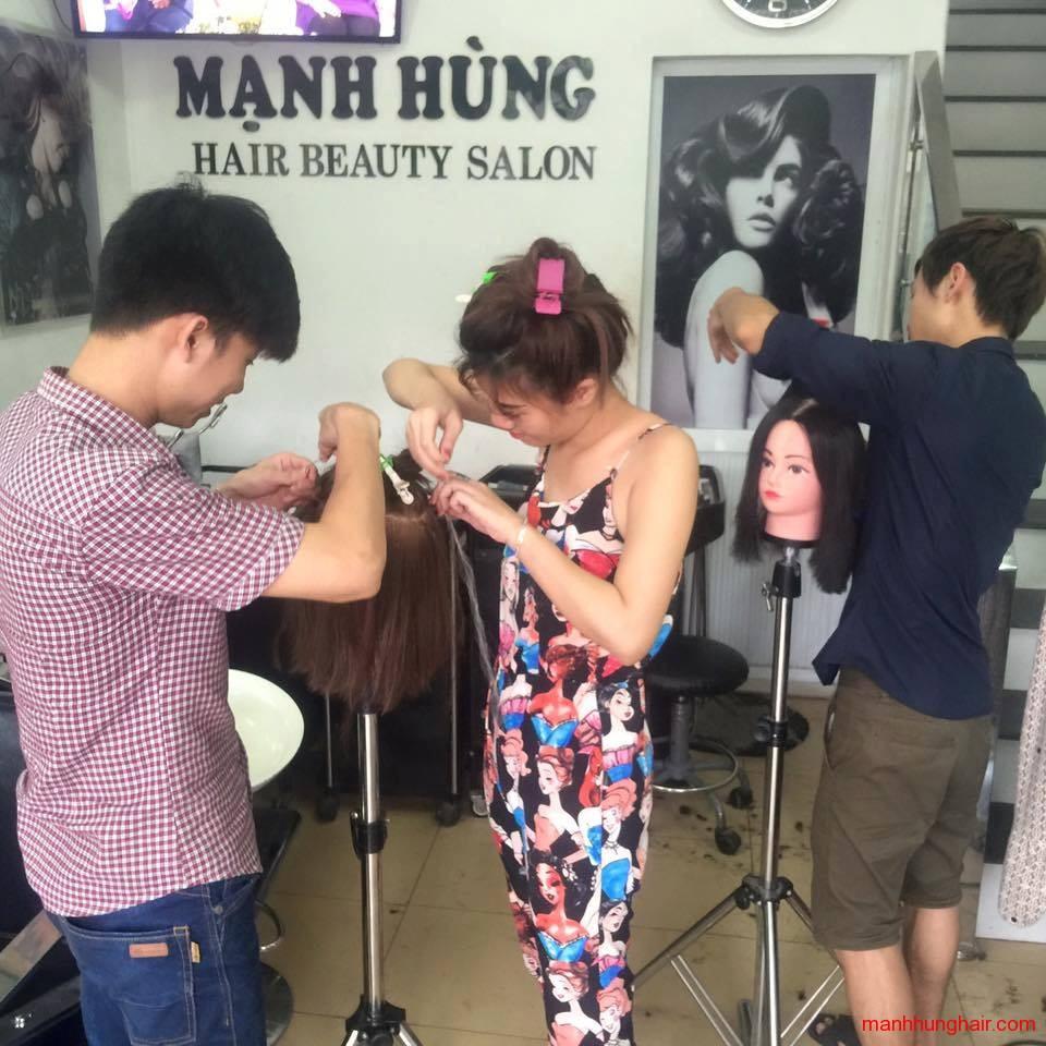 học cắt tóc ở hải phòng