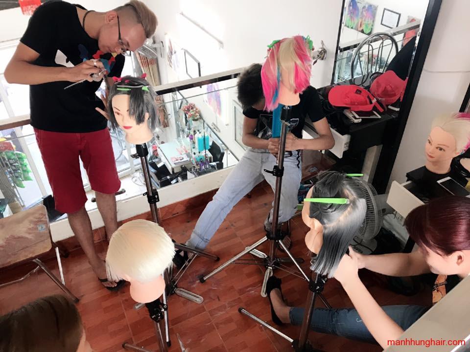 học nghề tóc hải phòng