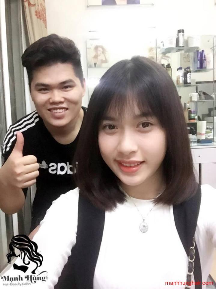 cắt tóc nữ đẹp