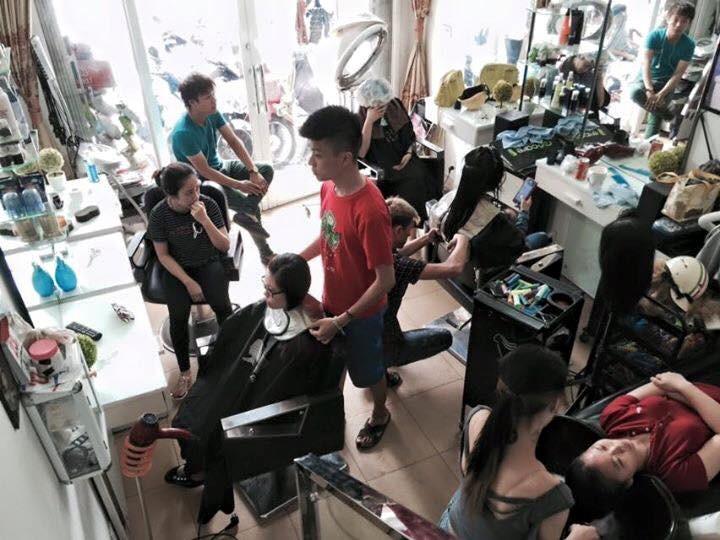 cắt tóc đẹp ở hải phòng