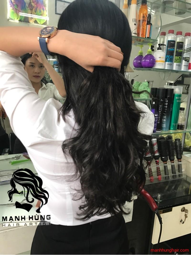 nối tóc đẹp ở hải phòng