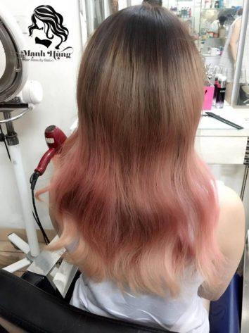 nhuộm tóc đẹp hải phòng