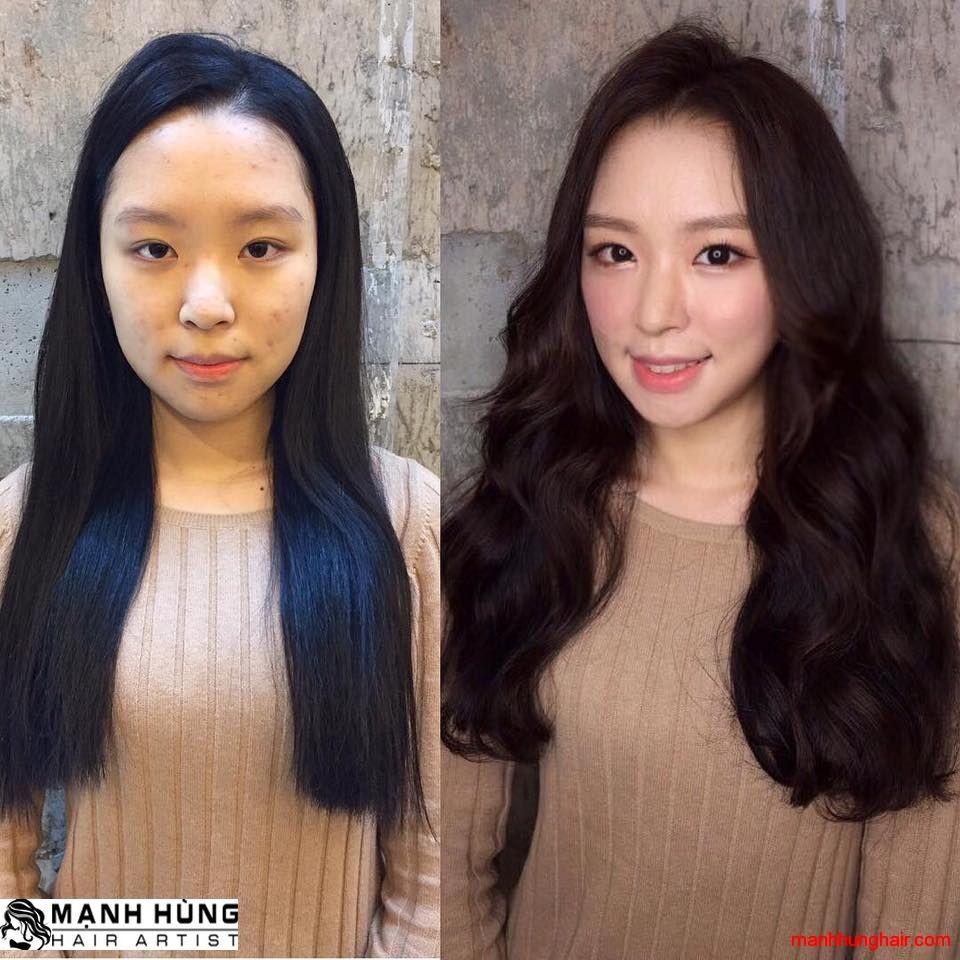 tóc đẹp và khỏe mạnh