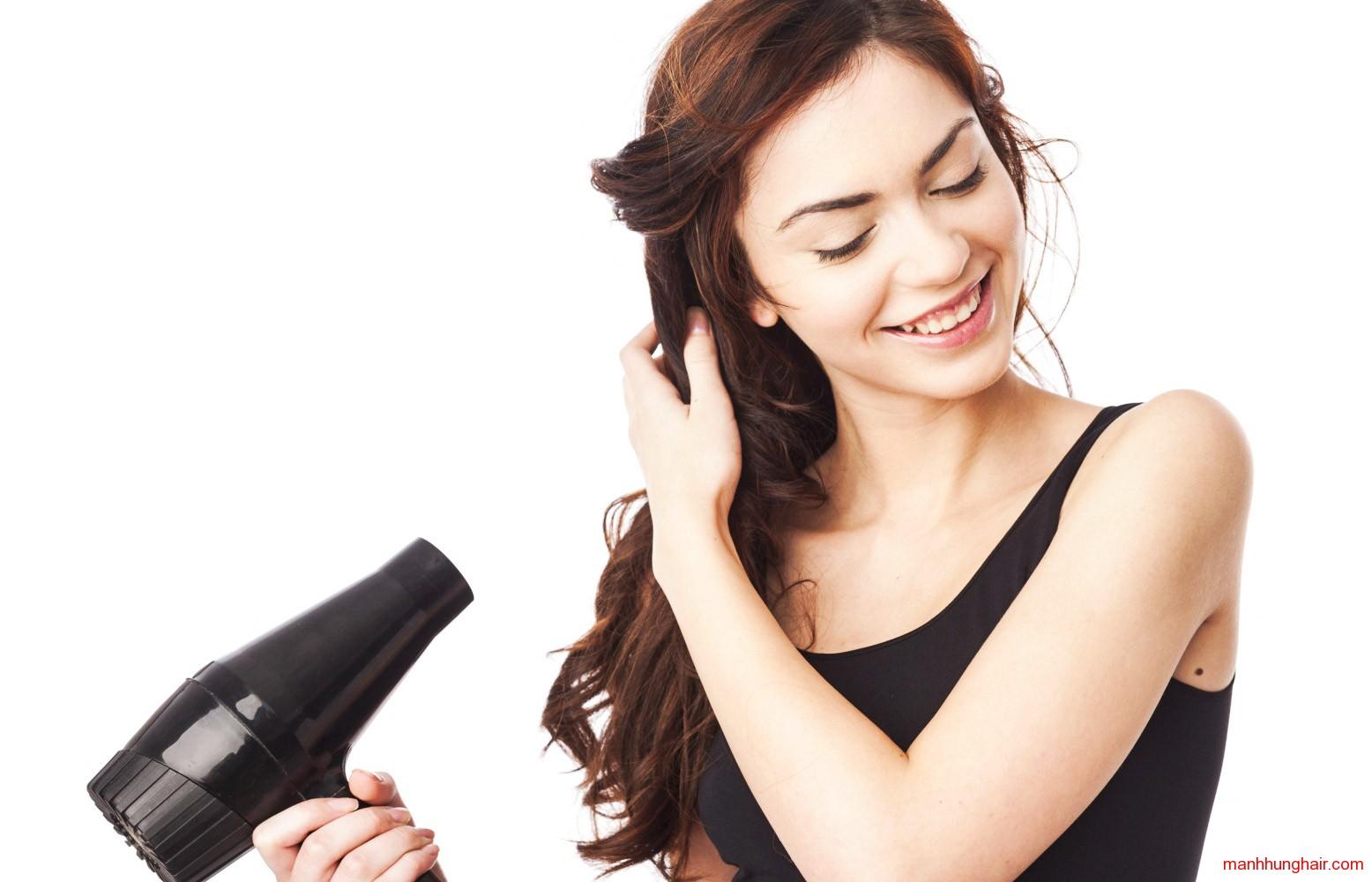 học sấy tóc online