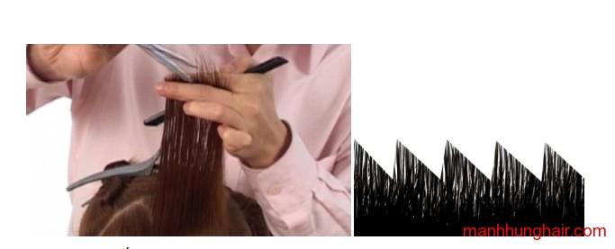 cắt răng cưa