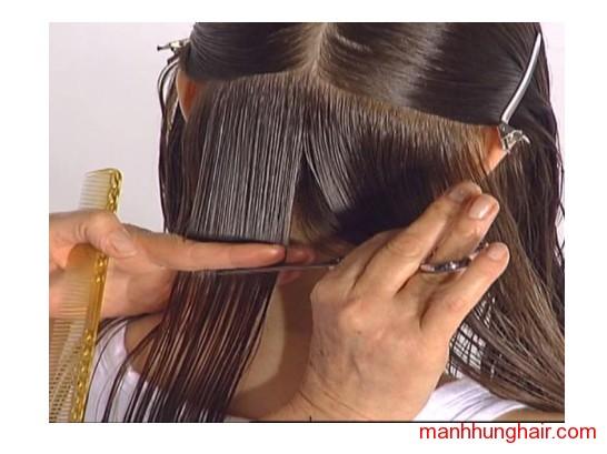 kỹ xảo cắt tóc lực độ