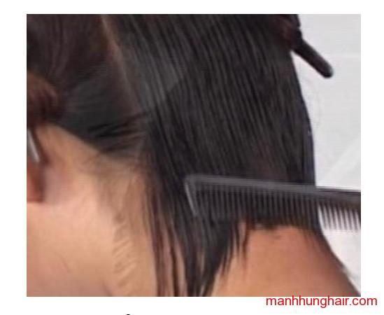 kỹ thuật cắt tóc cơ bản tự nhiên