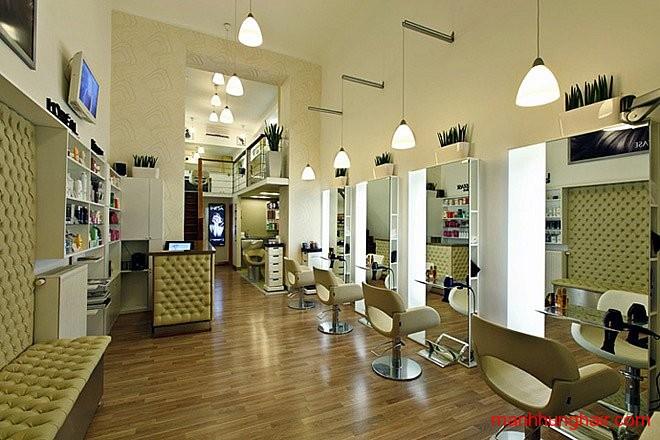 mỹ phẩm và dụng cụ cần để mở salon tóc