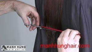 Kiểu Tóc Ngang Dài