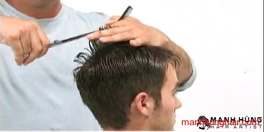 kiểu tóc sole vuông
