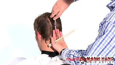 kiểu tóc sole đều