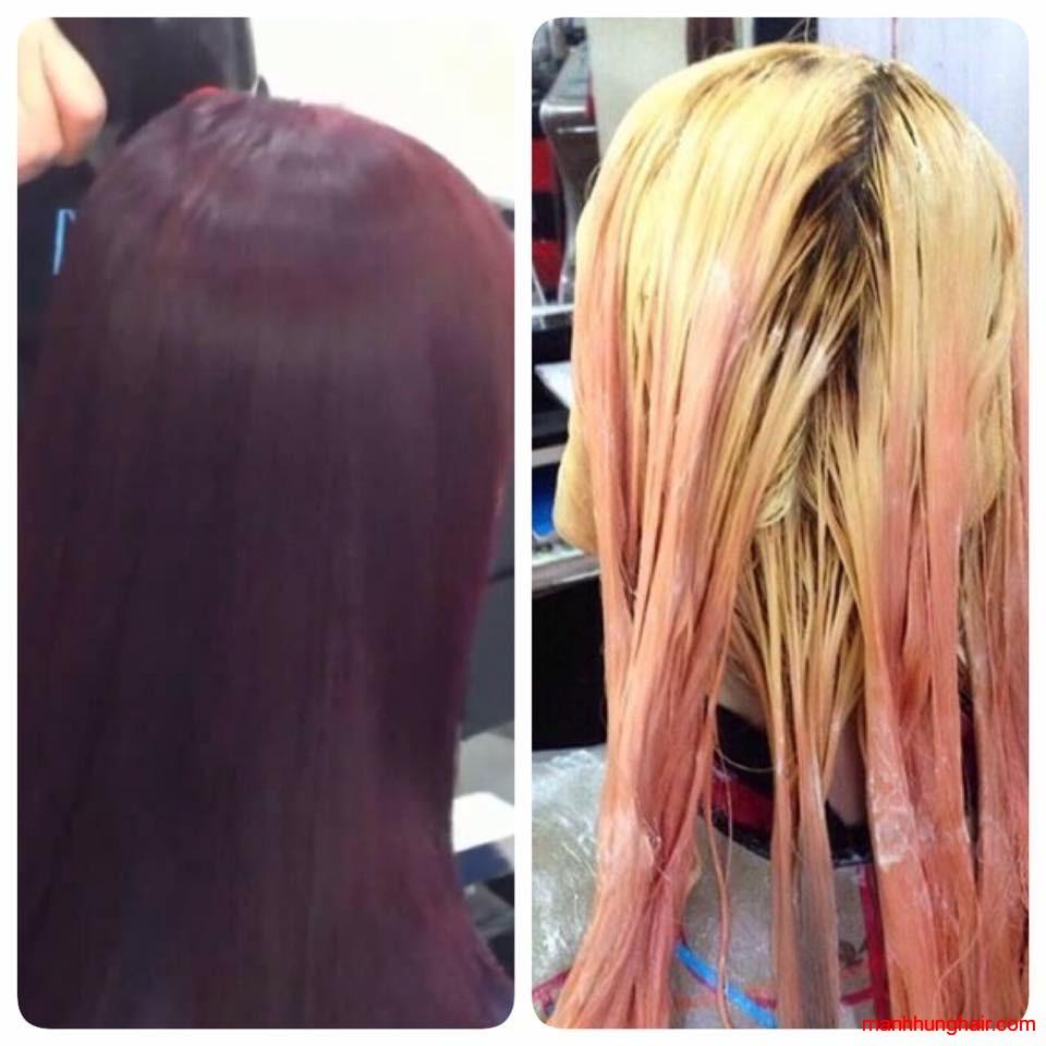 bóc màu tóc nhuộm đa năng sophia